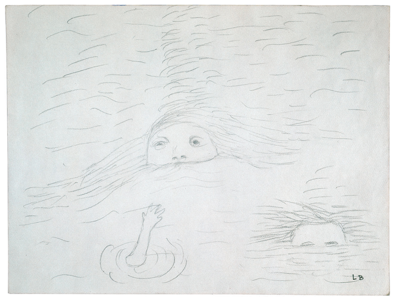 Untitled , 1987,pencil on paper,22.9 x 29.8 cm Ph Christopher Burke © The Easton Foundation/SIAE