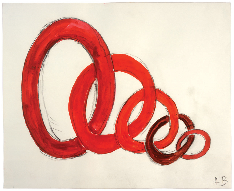 Untitled , 2006,watercolor and charcoal on paper,27.9 x 34 cm Ph Christopher Burke © The Easton Foundation/SIAE