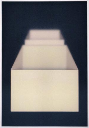 Corpi fragili , 2017 acrylic, wood, plexiglas, cm 150 × 104,5