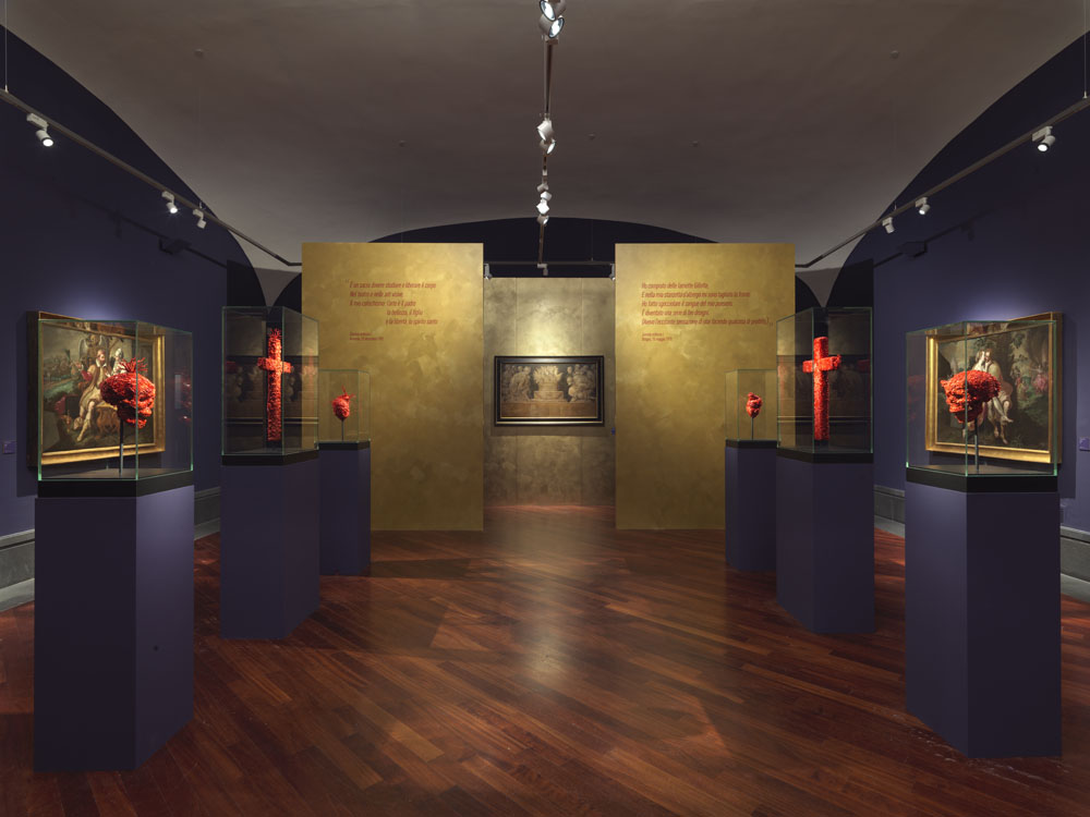 Jan Fabre. Golden and Coral Sculptures, Blood Drawings , Museo e Real Bosco di Capodimonte, 30 March - 15 September 2019