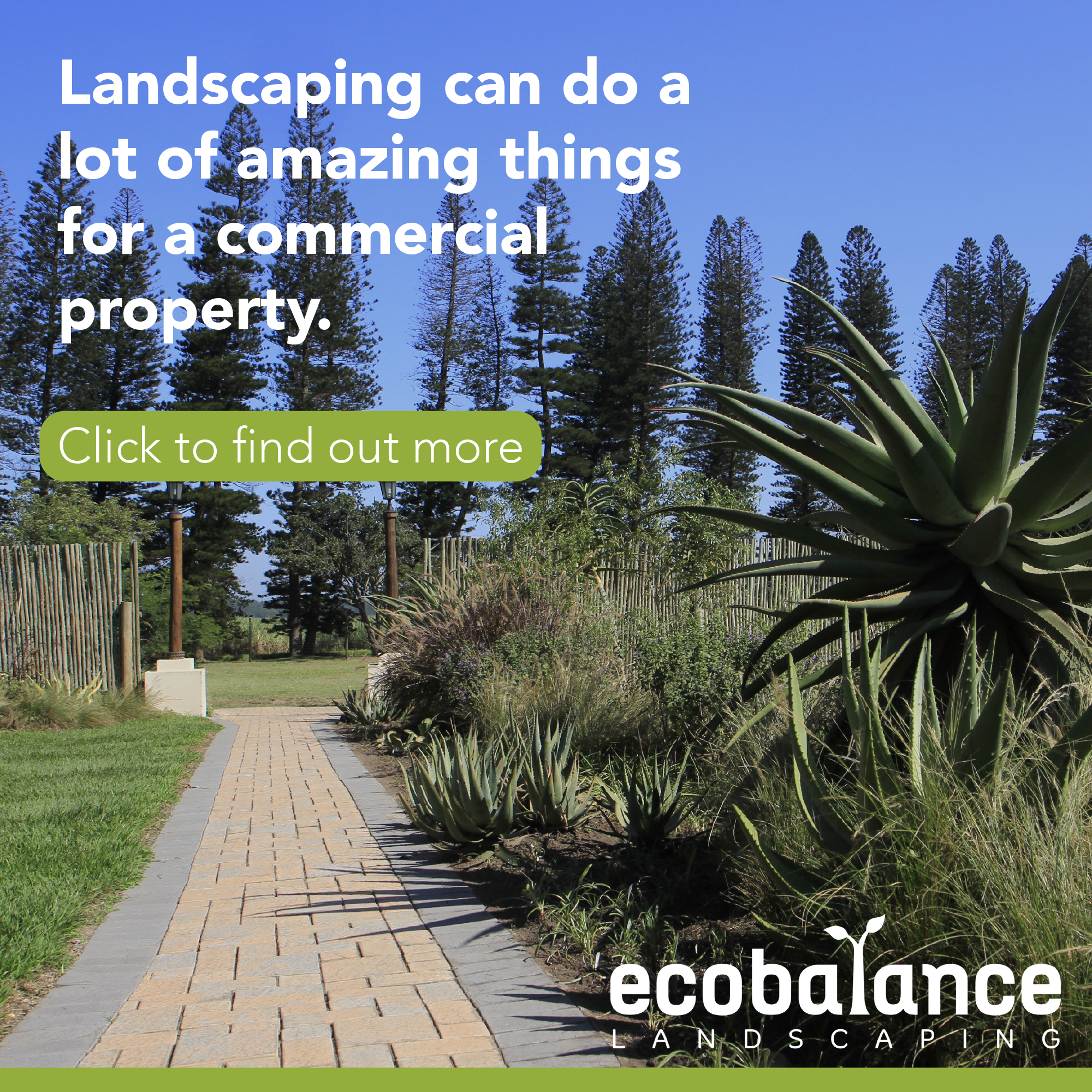 COMMERCIAL landscping