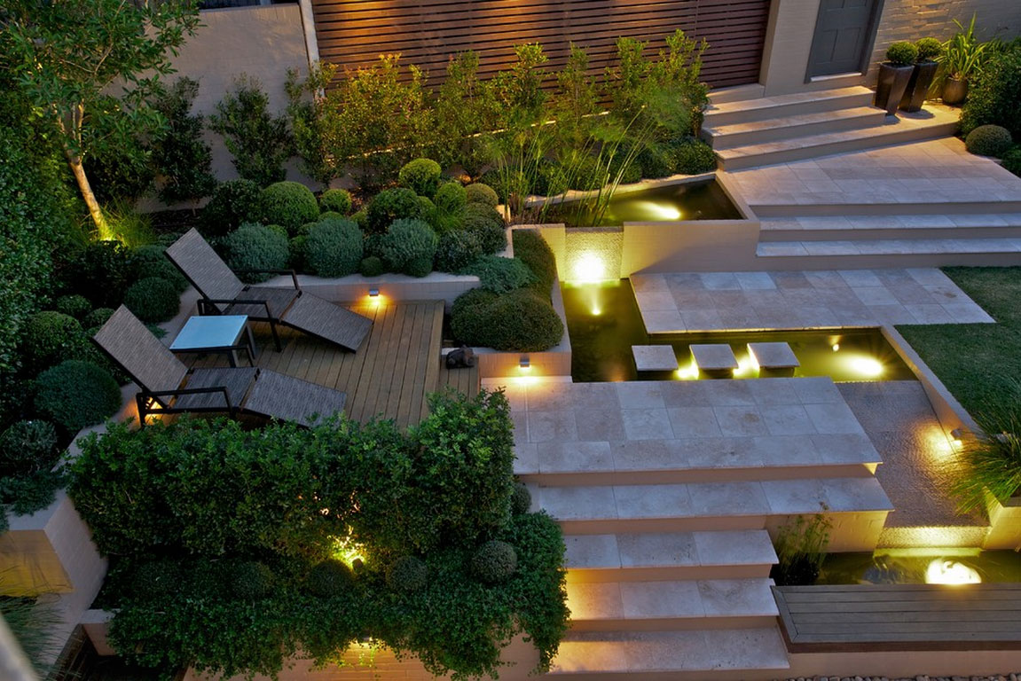 Small Gardens Mood-Garden-Lighting