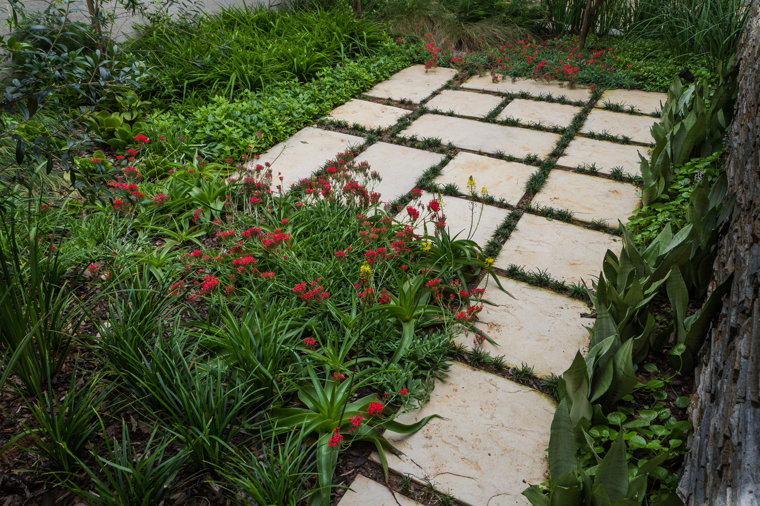 Paving Small Spaces