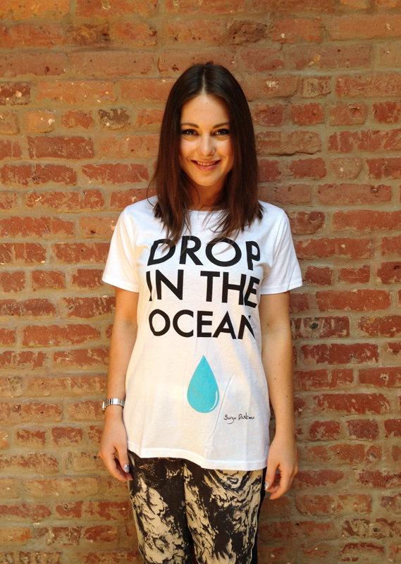 Louise shares her 'Drop in the Ocean' message with EJF supporters.