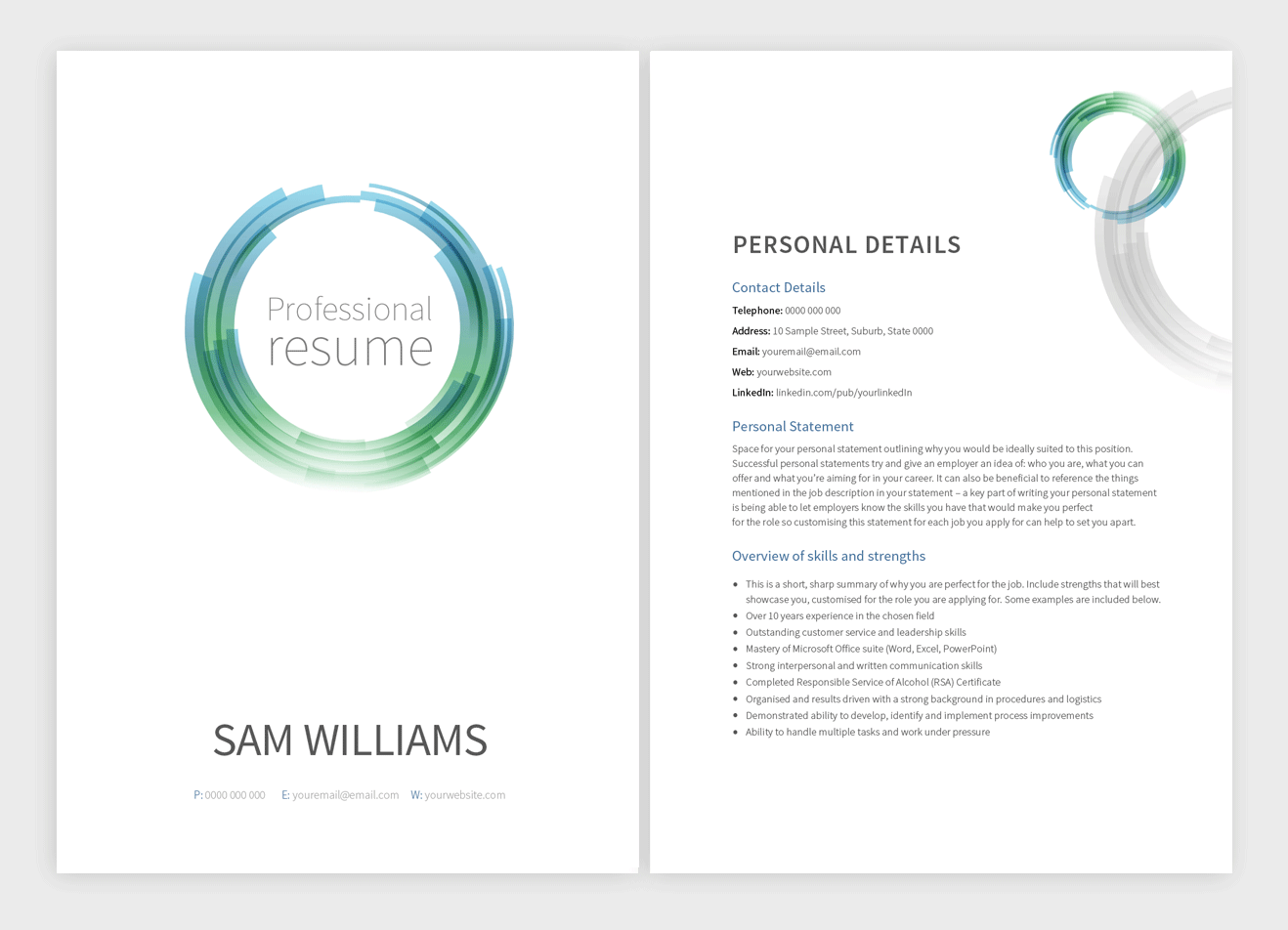 wormhole-resume-template