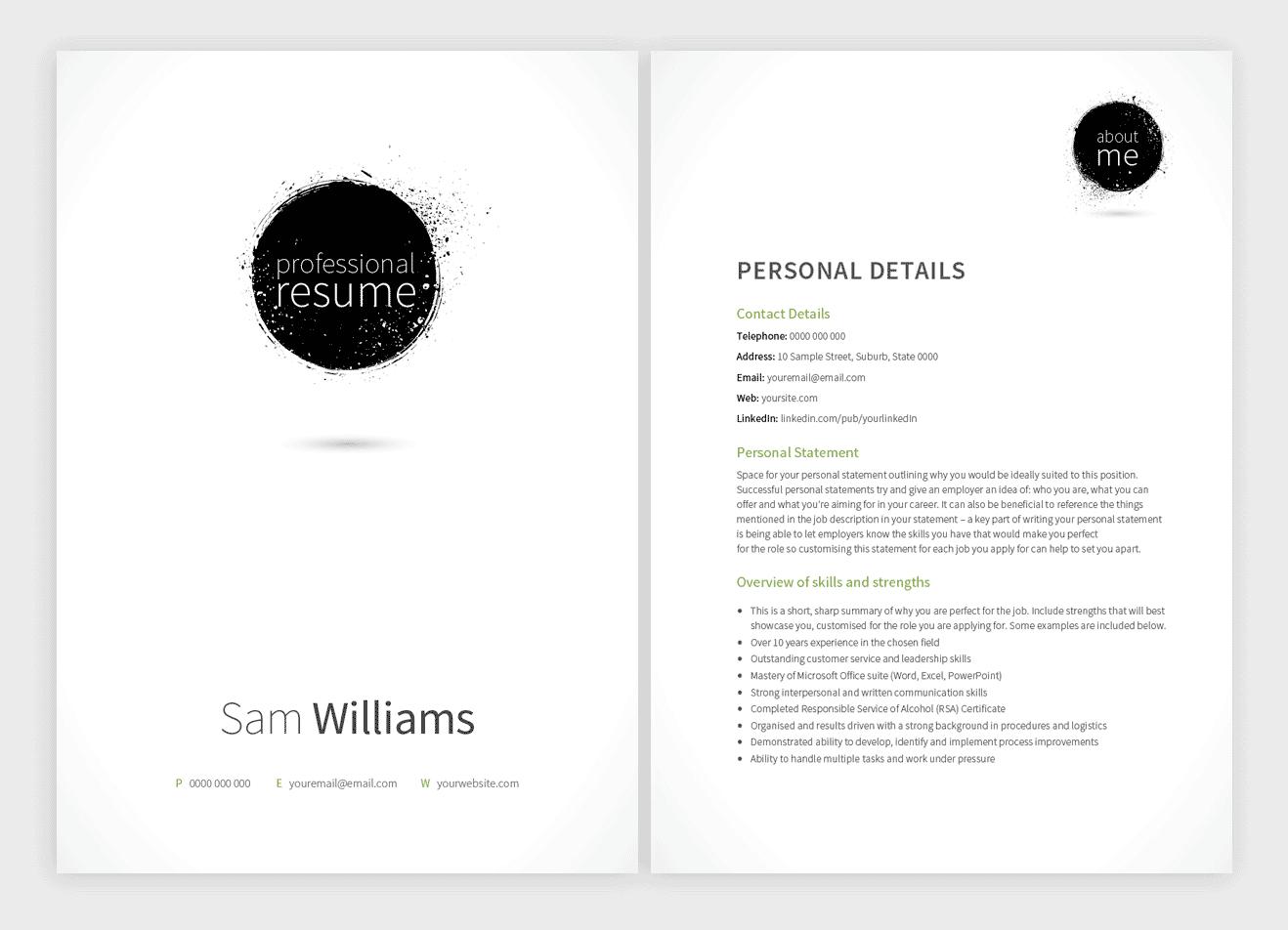Blackfriars-resume-template
