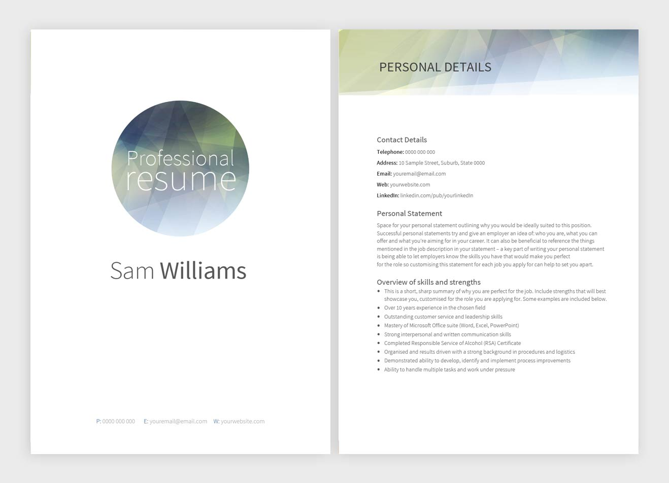 cathedral-resume-template