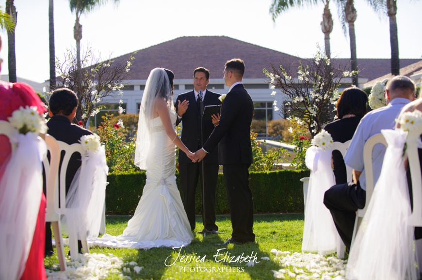 Nixon Library Wedding Photo, Ceremony