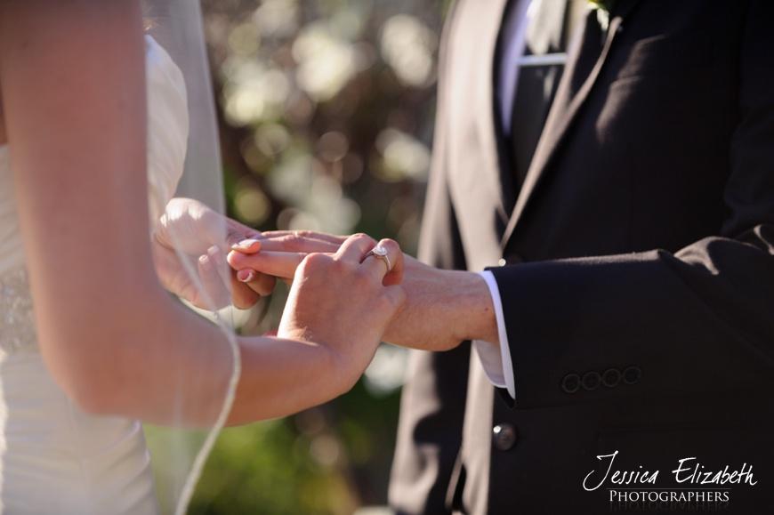 Nixon Library Wedding Photo, Ceremony