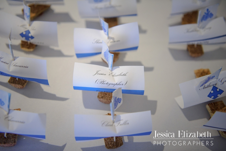 Pirate Themed Wedding Sailboat Escort Cards