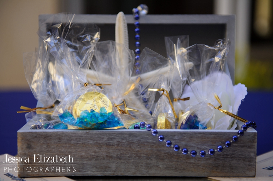 Treasure Chest Reception Centerpiece