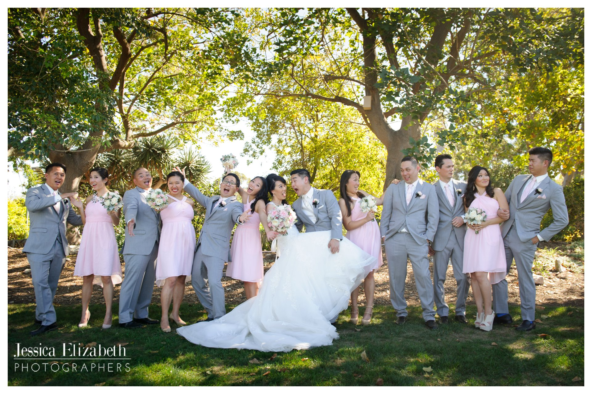 South Coast Botanic Garden- Bridal Party