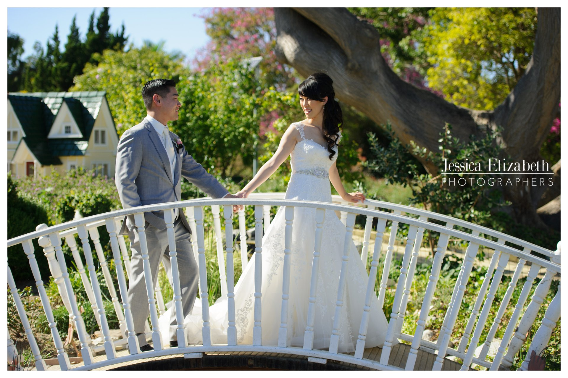 South Coast Botanic Gardens Bridal Portraits