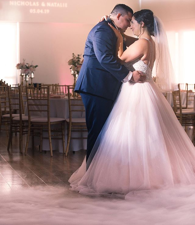 Not A Care in the World When You Are Dancing in the Clouds☁️ 💖  Venue: Marina Park Photographer: Jessica Elizabeth Photographers (@jessicaelizabethphoto +@Rob_tran ) Cinematographer: Kalet Productions (@kaletcinema) Coordinator: Grace & Gold Events (@graceandgoldevents) Hair & Make-Up: Swell Beauty (@swellbeauty) Officiant: Great Officiants (@greatofficiants) Floral: Bella Blooms (@bellabloomsfds) DJ: Livinh Events (@djlivinh) Men's Attire: Friar Tux (@Friar Tux) Catering: Lighthouse Cafe (@lighthousecafenb) Wedding Gown: Bellasposa Bridal (@bellasposawedding) Flower Girl Dress: Marshalls (@marshalls) Hair Extensions: Bellami Hair (@bellamihair)  Bride:@nataliemccarty_ Groom:@nick.mccarty_