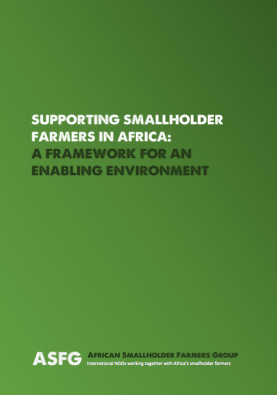 The policies, regulations and practices that can support Africa's smallholder farmers in becoming more entrepreneurial.