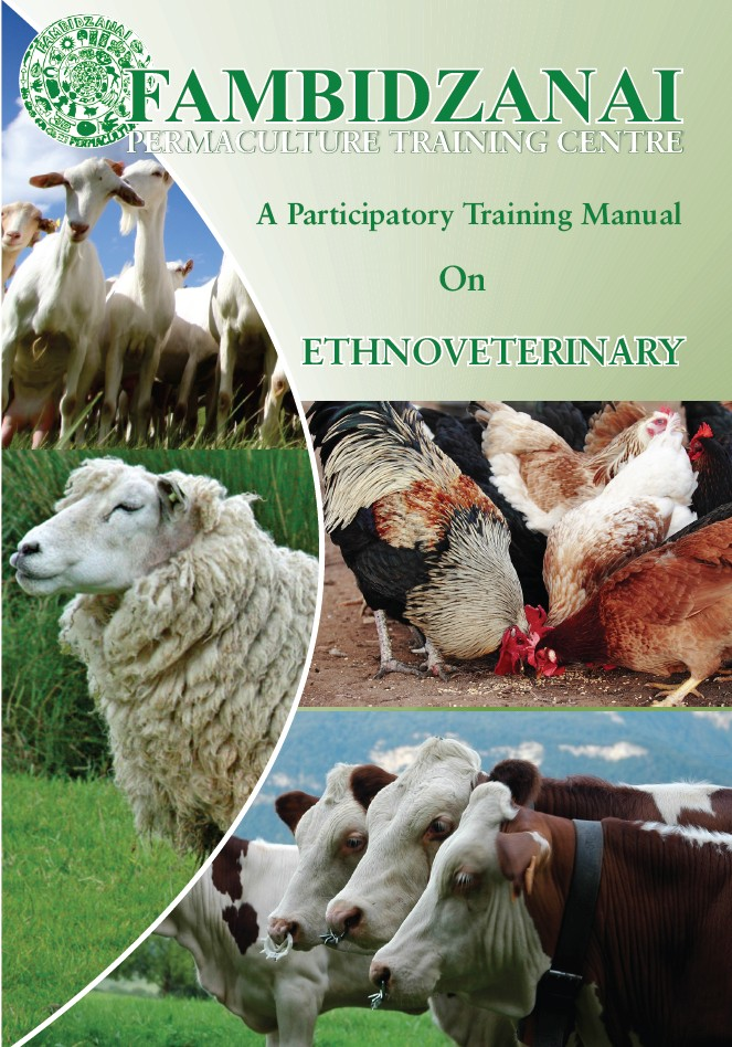 English language trainers manual on Ethnoveterinary plants and practices.
