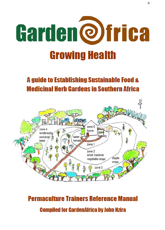Growing Health - guide to establishing sustainable food & medicinal gardens