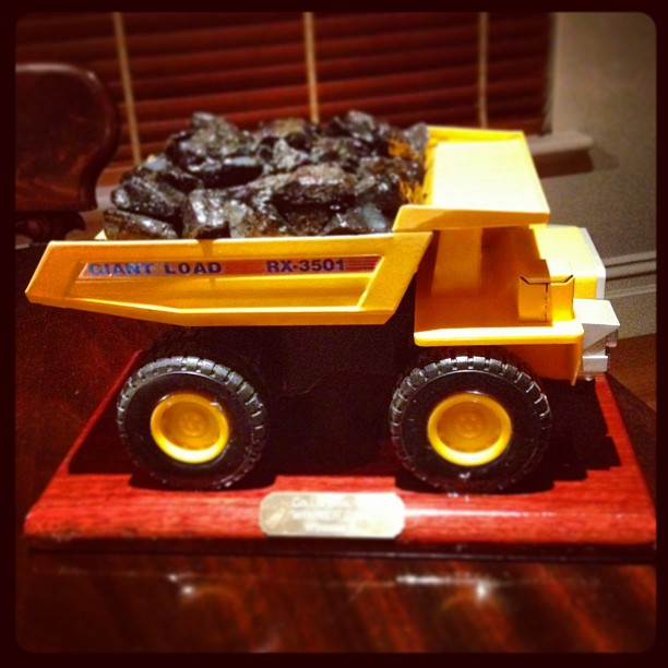 Collie Coal Truck