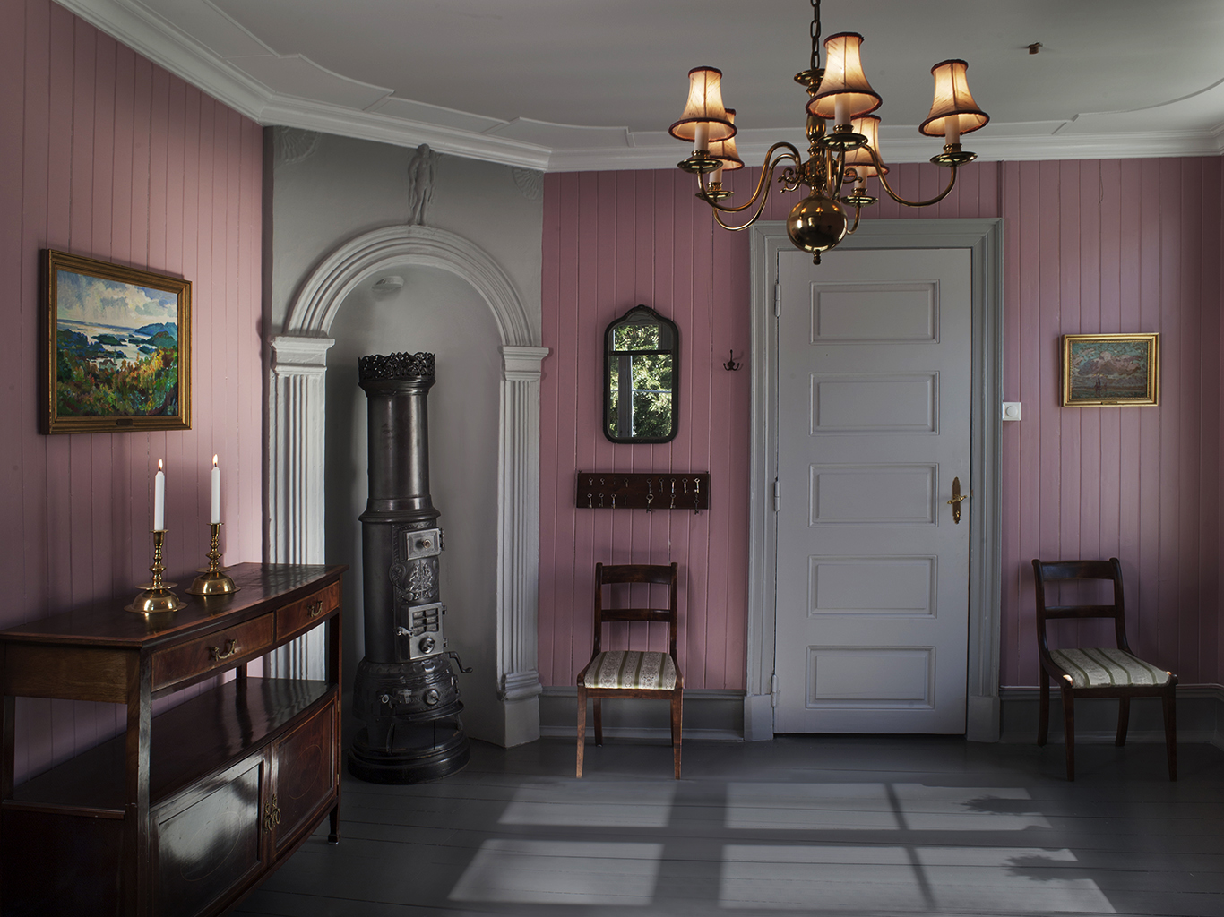 Det rosa værelse