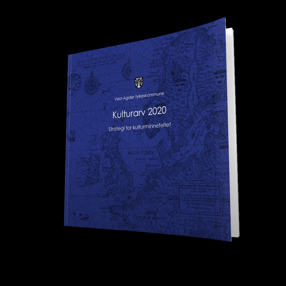 Kulturarv 2020  Utgivelsesår: 20141. opplag. Ansvarlig utgiver:Vest-Agder fylkeskommune    Last ned filen her >