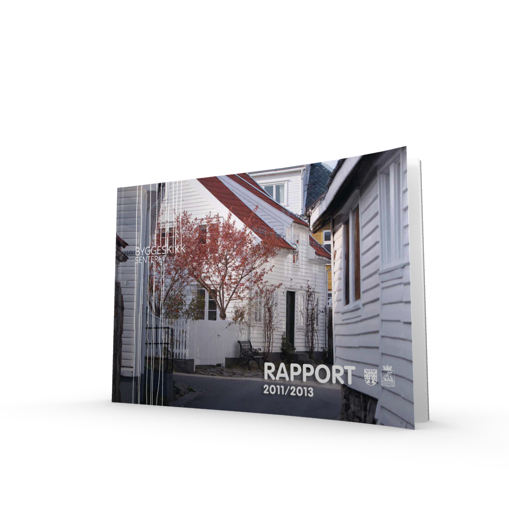 Årsrapport 2011/13  Utgivelsesår: 20131. opplag. Ansvarlig utgiver:Byggeskikksenteret  og Vest-Agder fylkeskommune    Last ned filen her >