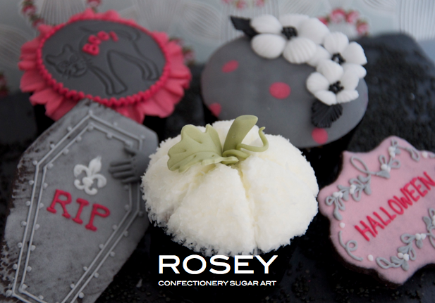 2014 デザイン  ハロウィン カップケーキ&アイシングクッキー レベル:★☆☆
