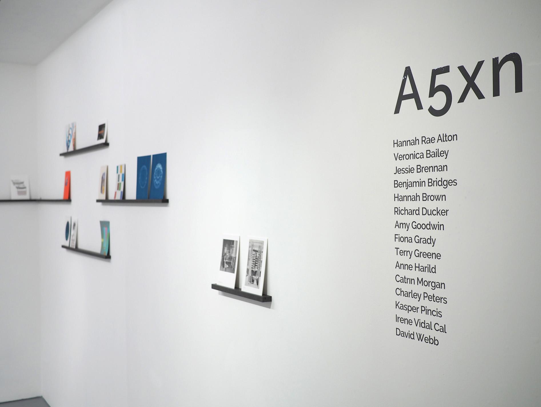 A5xn installation view
