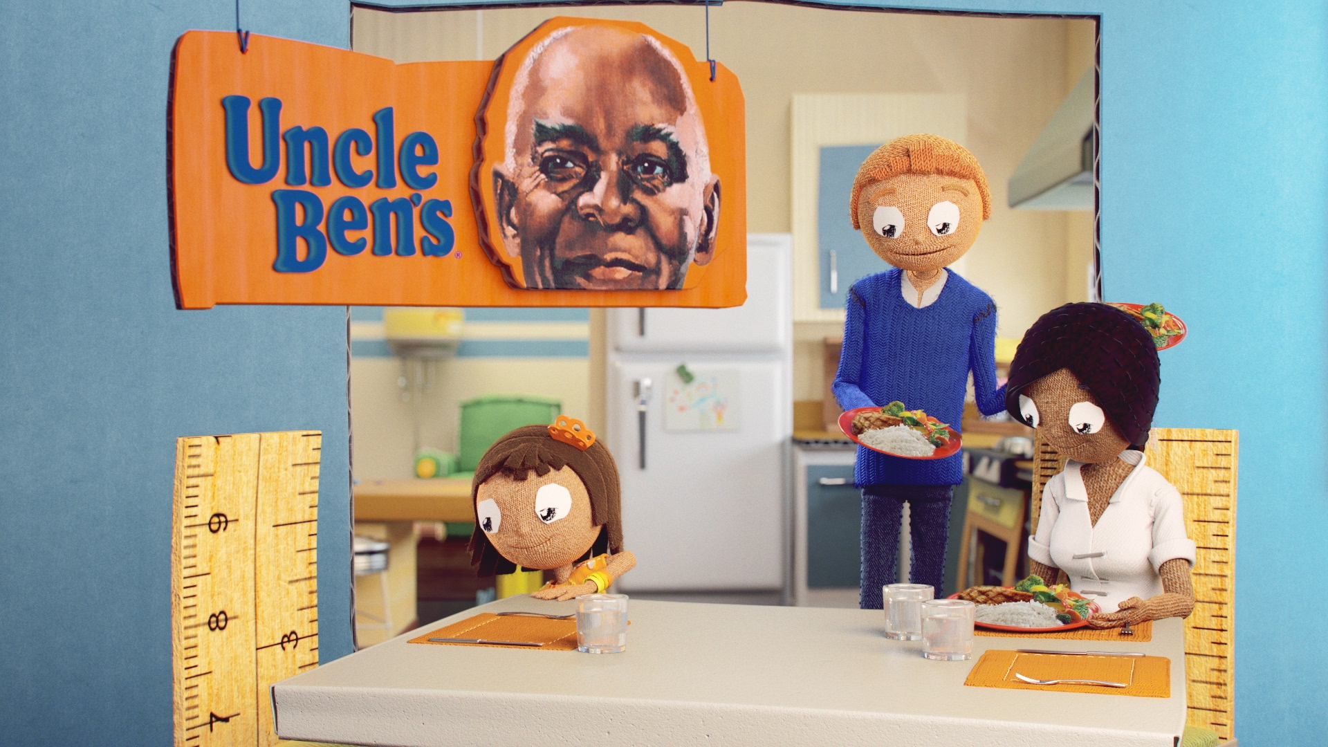 """Uncle Ben's """"Drawing"""""""