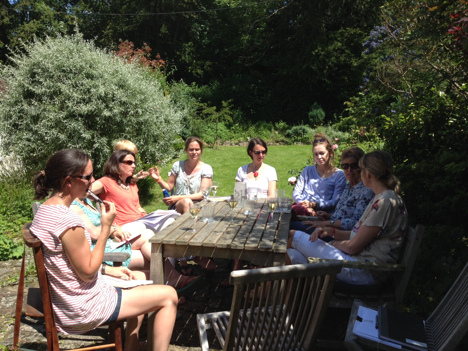 Friends of Sophie's Fund planning the fun day in September.