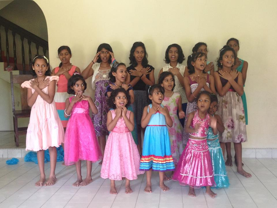 Girls Christmas Concert.