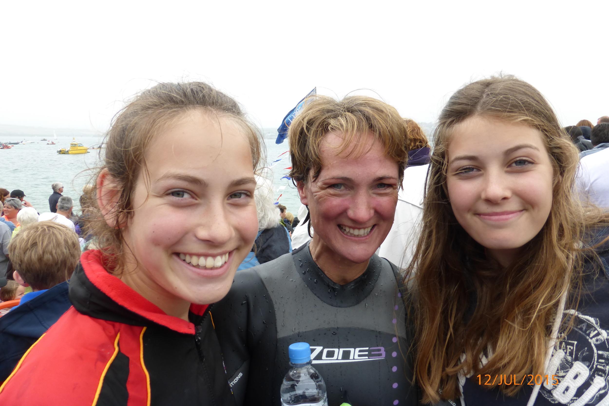 Grace, Fiona and Jojo