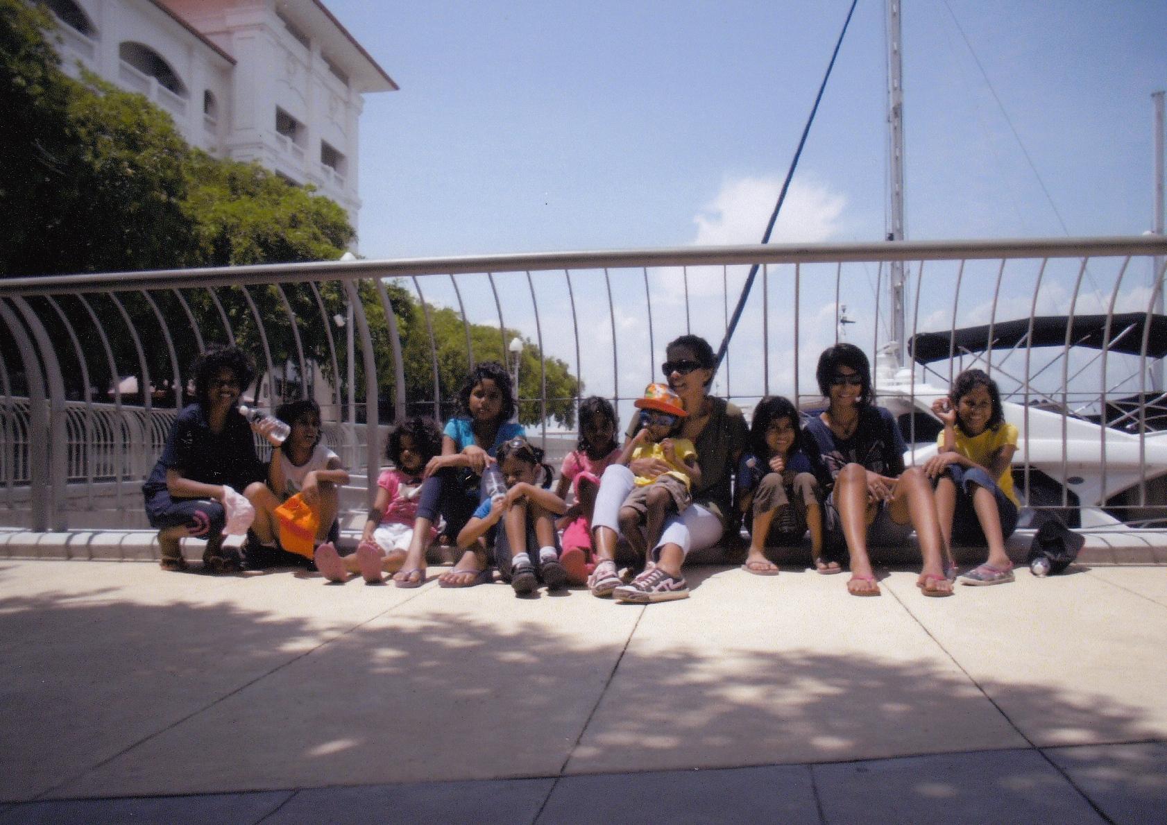 Girls in Penang