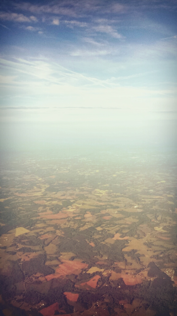 Earth from the Plane