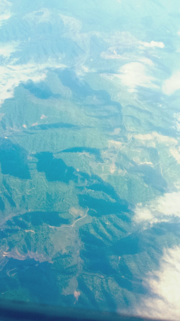 The Appalachians from Above