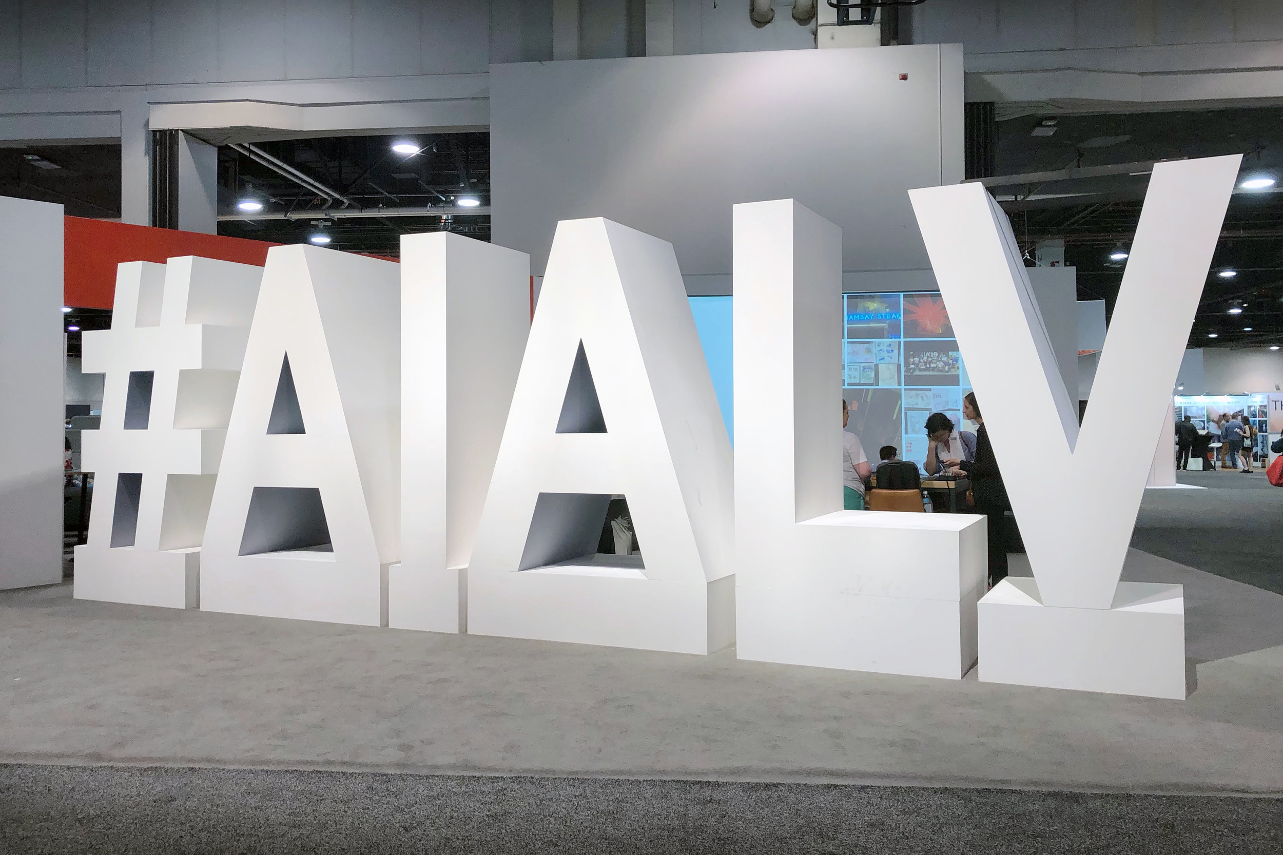 #AIALV was the hashtag for this year's AIA event.