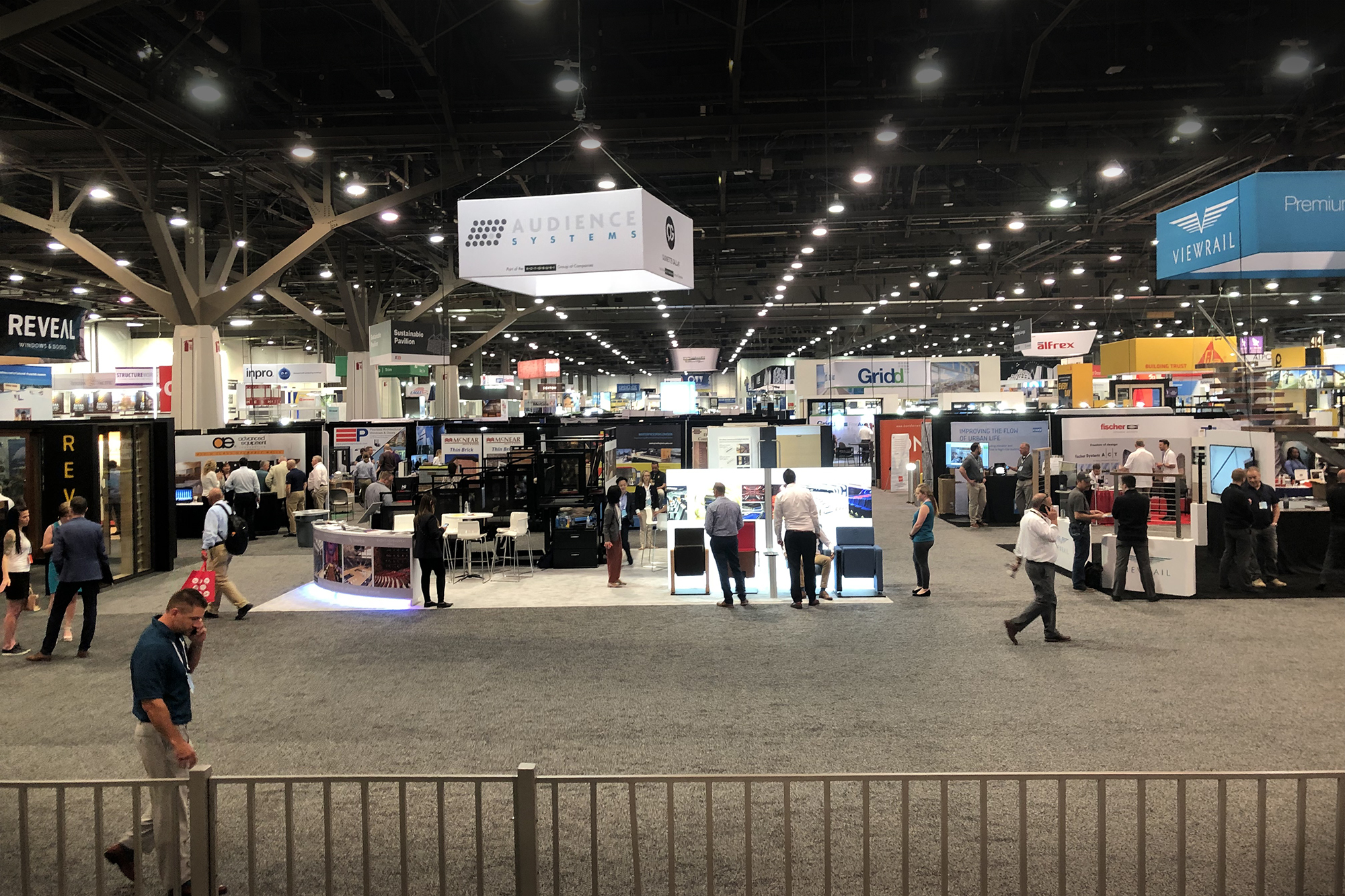 The Expo floor at AIA National Convention in Las Vegas.