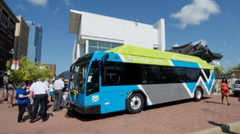 Rock Region Metro Re-branded Buses, Complete with Sync ITS