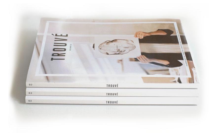 trouve magazine volume two