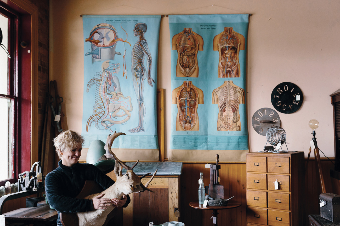 trouve_magazine_antique_shop_trentham_wooden_ducks_