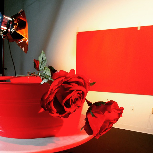 #valentinesday is coming... #photoshoot #lighting #red