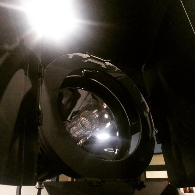 Back in the studio #lighting #onset