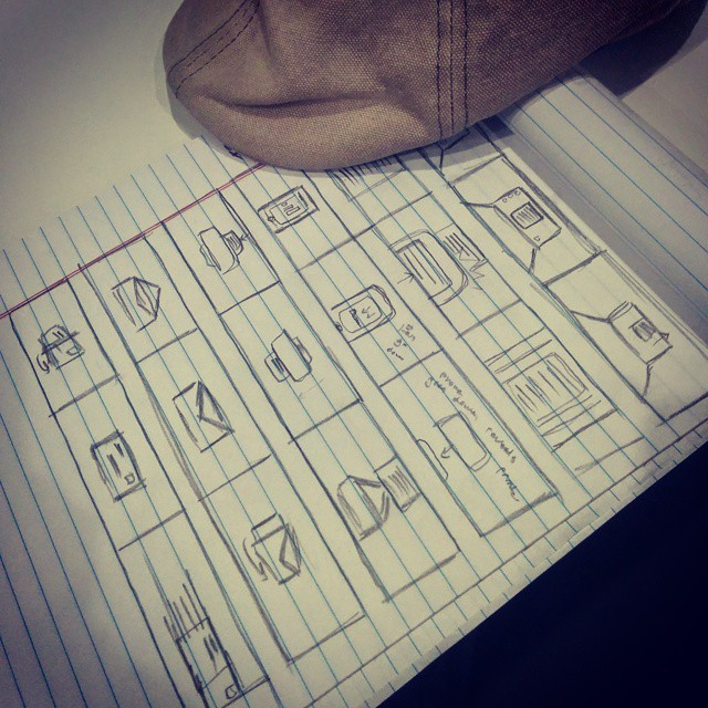 """Quick """"storyboard"""" for an animated tutorial currently in production #animation @Adobe"""