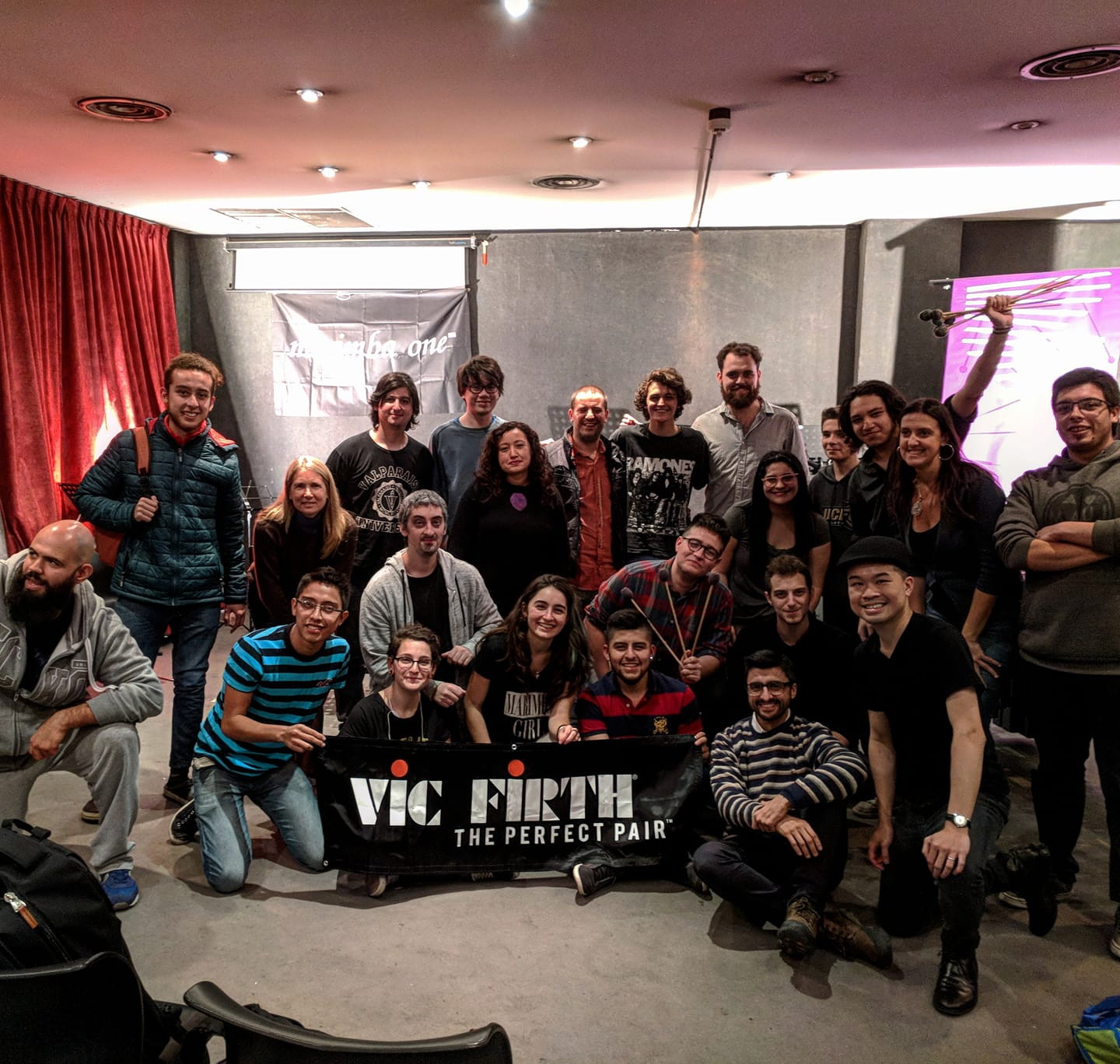 Masterclass at Conservatorio Astor Piazzolla 2018 (Buenos Aires, Argentina)