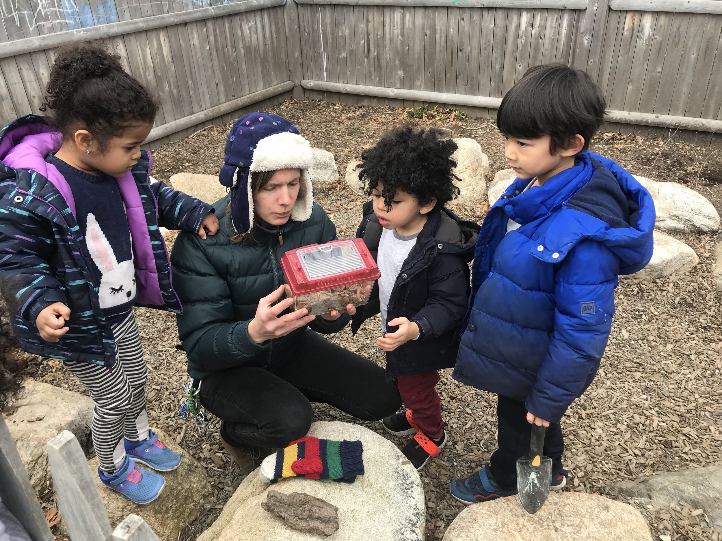 After-school program outdoor activity