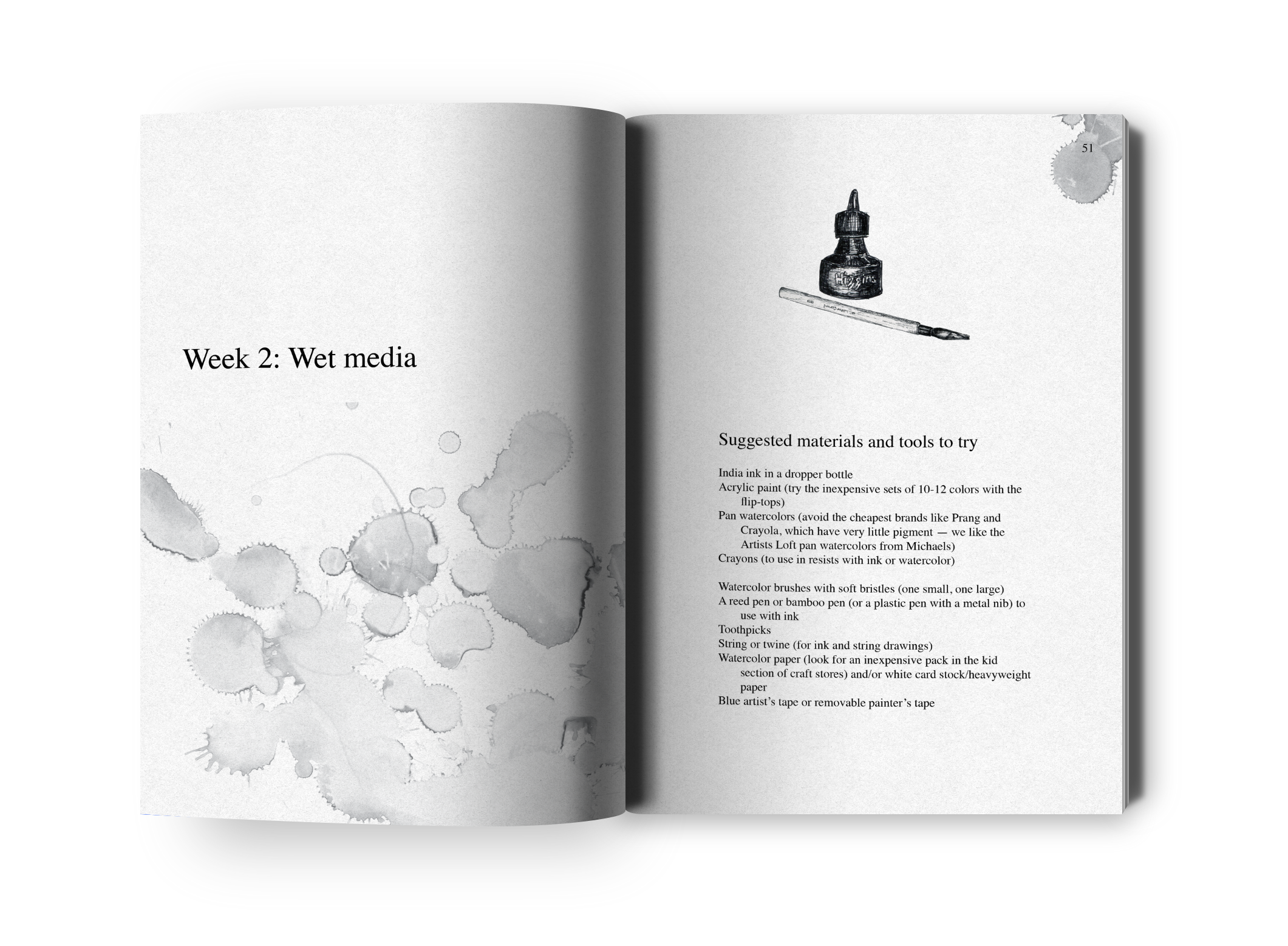 Book illustration and layout