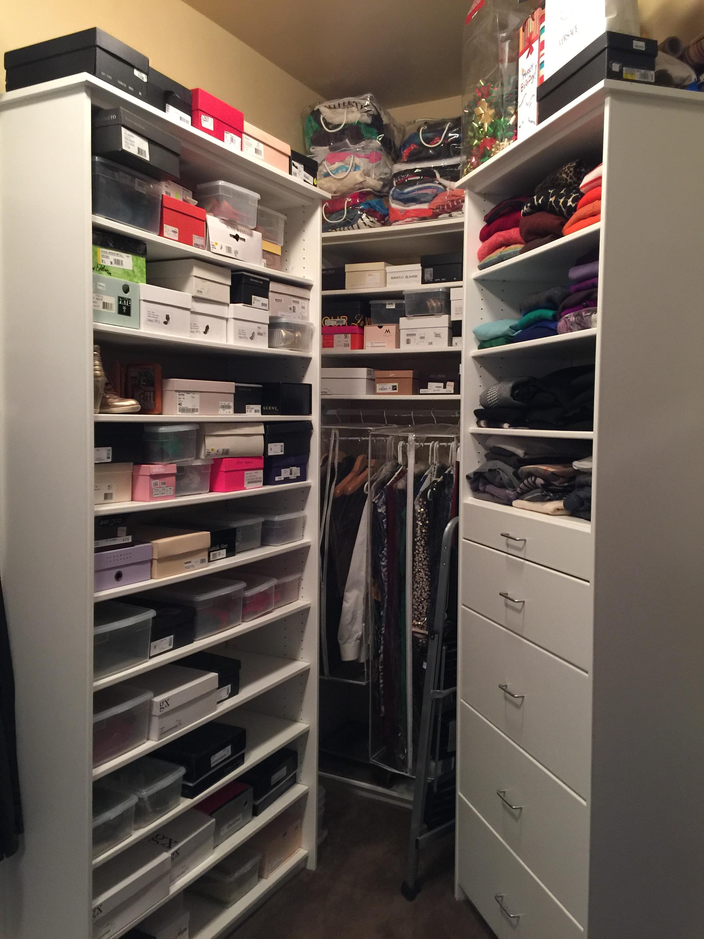 Closet Makeover - After