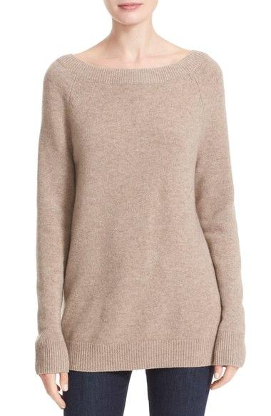 Nordstrom - Cashmere Boatneck Sweater