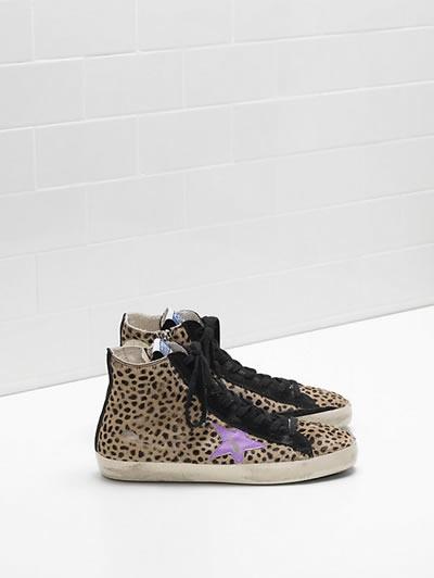 Golden Goose - Francy Leopard Sneakers
