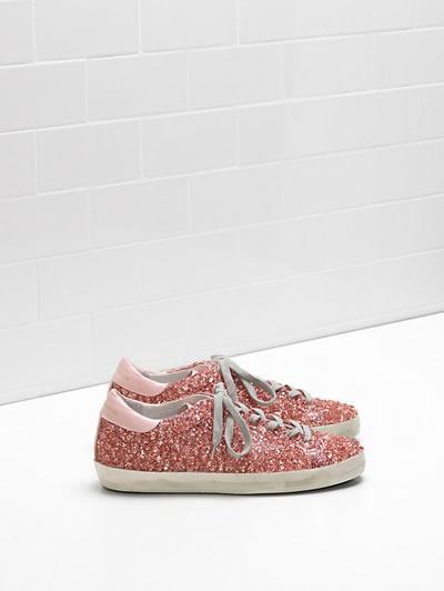 Golden Goose - Superstar Glitter Sneakers