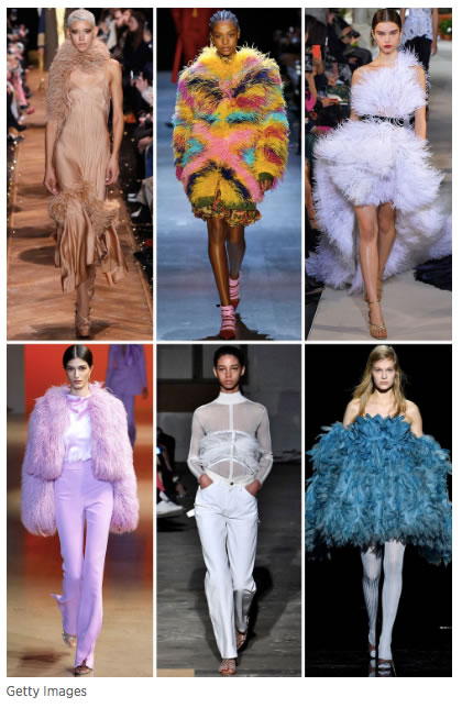 Check out this great article at Harper's Bazaar for insight into 2019 Fall Fashion Week trends